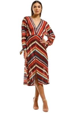 Elliatt-Edie-Dress-Multi-Stripes-Front