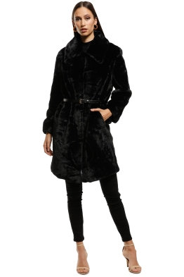 Elliatt - Bespoke Coat - Black - Front