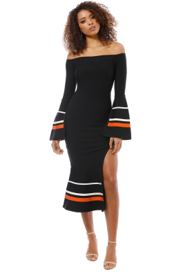 Elliatt - Bliss Dress - Black - Front