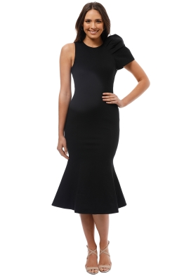 Elliatt - Imperial Dress - Black - Front