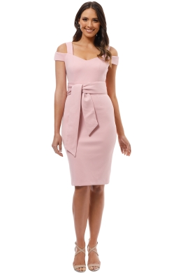 Elliatt - Phoebe Dress - Musk - Front