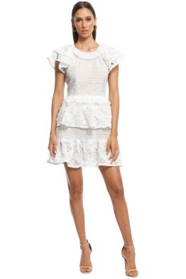 Elliatt - Savannah Dress - White - Front