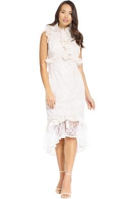 Elliatt - Serena Dress - White - Front