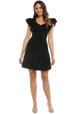 Elliatt - Sicily Dress - Black - Front