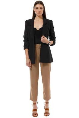 Elliatt - Sorrento Blazer - Black - Front