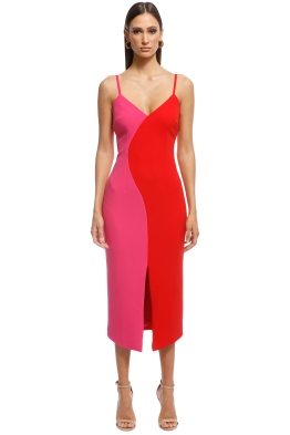 Elliatt - Sydne Dress - Fuschia - Front