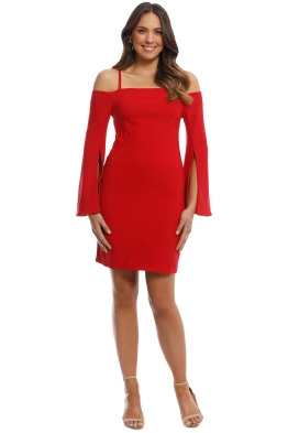 Elliatt - Tempo Dress - Red - Front