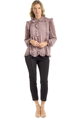 Elliatt - United Blouse - Truffle - Front