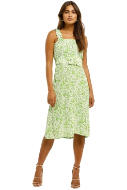 Faithfull-Mae-Midi-Dress-Freja-Floral-Print-Front