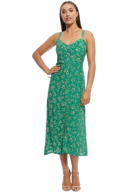 Faithfull - Este Midi Dress - Audrey Floral Print - Front