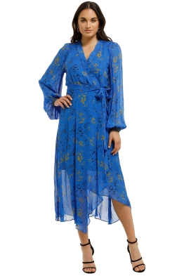 Ginger-and-Smart-Aquiver-Wrap-Dress-Aquiver-Front
