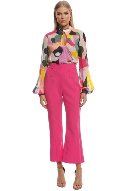 Ginger and Smart - Chroma Blouse - Multi - Front