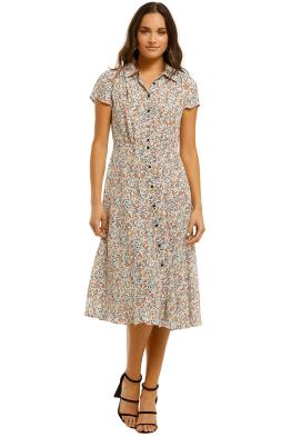 Gorman-Mini-Terazzo-Long-Dress-Multi-Front
