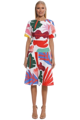 Gorman - Frondly Face Dress - Multi - Front