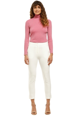 Grace-Willow-Asher-Pant-White-Front