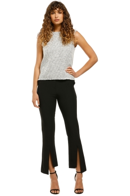 Grace-Willow-Parker-Pant-Black-Front
