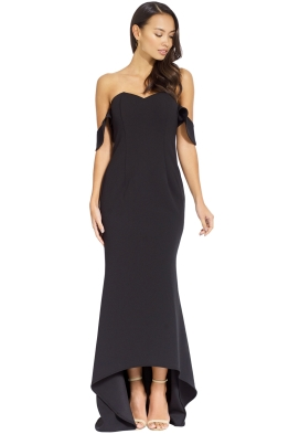Grace _ Hart - Aviary Gown - Black - Front