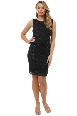 Grace and Blaze - Ritz Dress - Black - Front