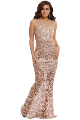 Grace and Hart - Renaissance Gown - Blush - Front