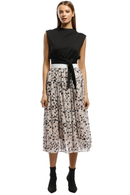 Grace Willow - Adeline Skirt - Spot Multi - Front
