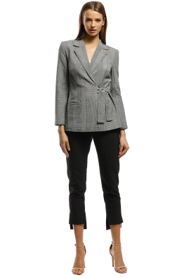 Grace Willow - Hilaria Jacket - Grey - Front