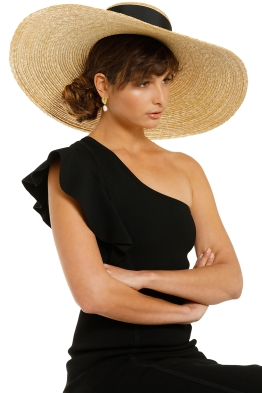 Heather-McDowall -Daniella-Oversized-Hat-Black-Product-One