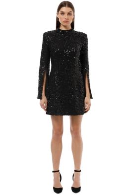 Elliatt - Zest Dress - Black - Front