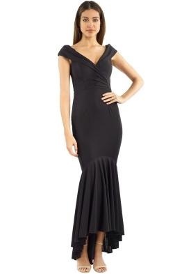 Jadore - Elyse Gown - Black - Front