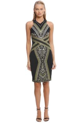 Karen Millen - Embroidered Midi Dress - Front