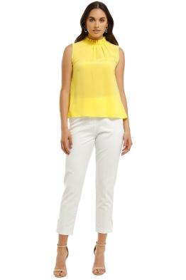 Kate-Sylvester-Cara-Top-Yellow-Front