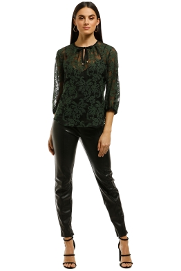 Kate-Sylvester-Joanna-Top-Black-Emerald-Front