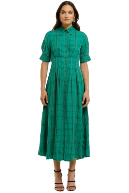 Kate-Sylvester-Lee Dress-Green-Front