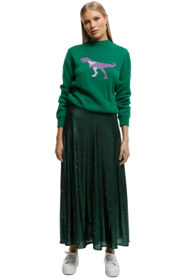 Kate-Sylvester-T-Rex-Sweater-Green-Front