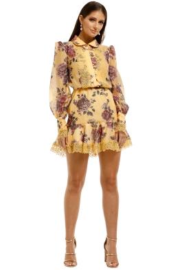 Keepsake-the-Label-Atomic-LS-Mini-Dress-Butterscotch-Garden-Front