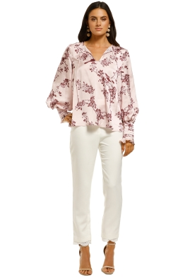 Keepsake-The-Label-Belle-LS-Top-Pink-Sparrow-Floral-Front