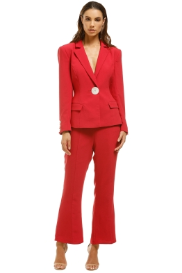 Keepsake-The-Label-Estate-Blazer-and-Pant-Set-Scarlet-Front