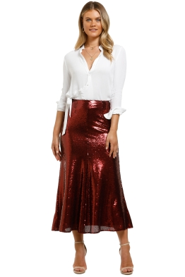 Keepsake-the-Label-Farewell Skirt-Ruby-Front