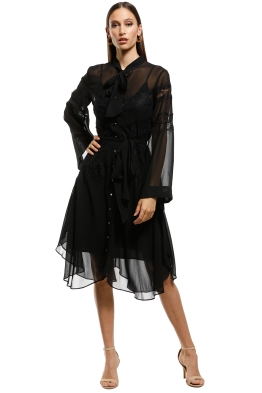 Keepsake-the-Label-Tranquil-Midi-Dress-Black-Front