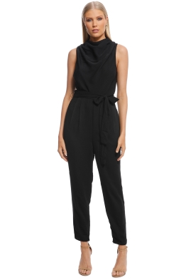 Keepsake The Label - Allure Jumpsuit - Black - Front