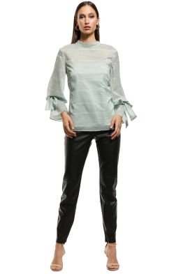 Keepsake the Label - Charmer LS Top - Mint - Front