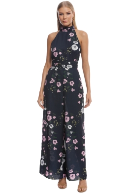 Keepsake the Label - Darkness Jumpsuit - Navy Floral - Front