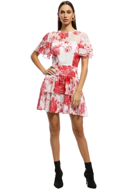 aab3e84d671f Keepsake The Label - Enchanted Mini Dress - Red Floral - Front