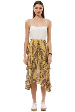 Keepsake the Label - Light Up Skirt - Golden Yellow - Front