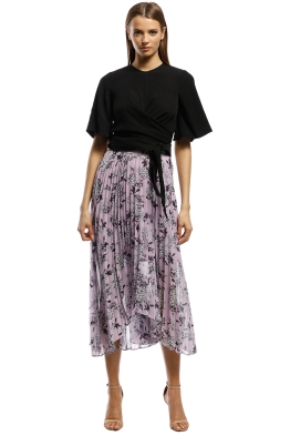 Keepsake The Label - Unique Skirt - Lilac Floral - Front