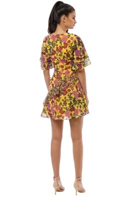 b7ecc9f2a13a3 Keepsake the Label - Waves Mini Dress - Golden Floral - Front