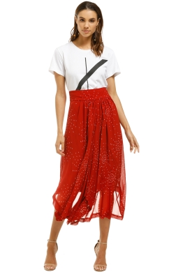 KITX-Galaxy-Waterfall-Skirt-Red-Front