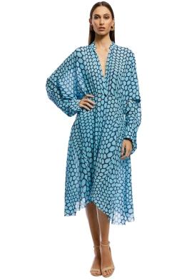 KITX - Rapture Dolman Dress - Blue - Front