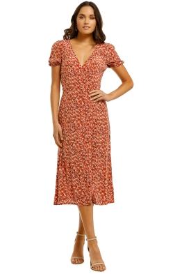 Kookai-Tallis-Wrap-Dress-Multi-Front