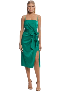 Kookai - Toni Dress - Emerald - Front