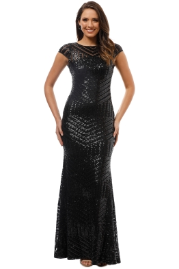 L'Amour - Grace Gown - Black - Front